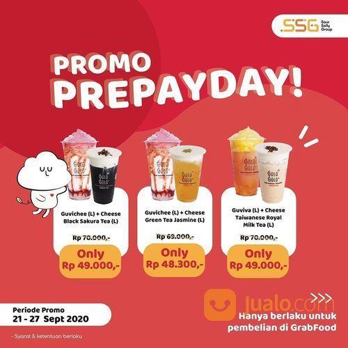 GULU GULU MEDAN PROMO PREPAYDAY khusus GRABFOOD dengan potongan harga SPECIAL! (28135367) di Kota Jakarta Selatan