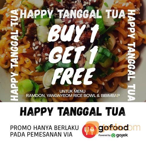 Oomoona Korean Food BUY 1 GET 1 FREE (28135423) di Kota Jakarta Selatan