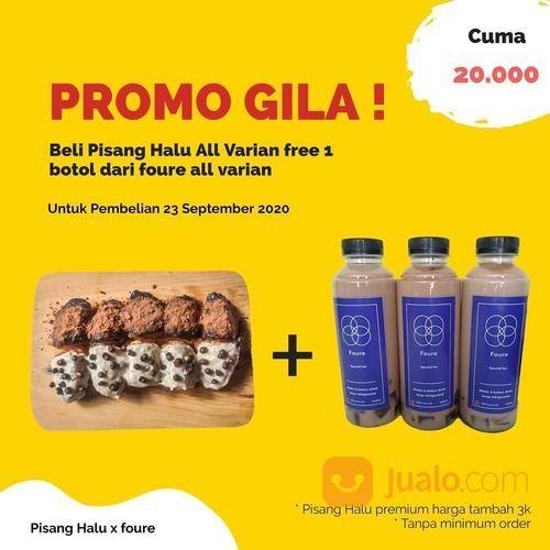 PISANG HALU PROMO +1 botol foure all varian (28135431) di Kota Jakarta Selatan