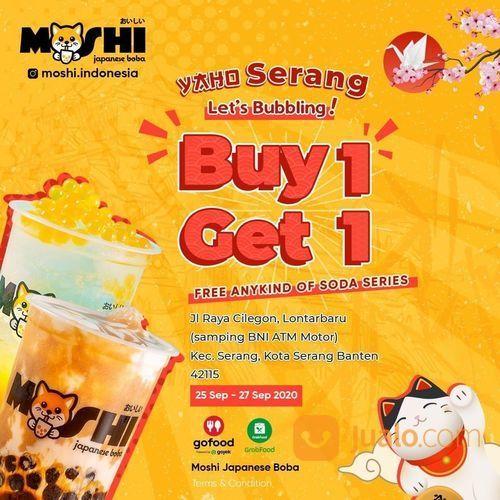 MOSHI Beli 1 varian apa saja gratis 1 varian Waku-waku Soda Series. (28135499) di Kota Jakarta Selatan