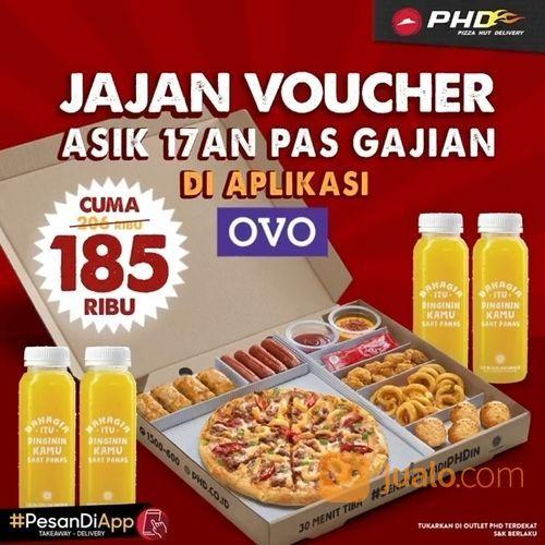 PHD PROMO VOUCHER Big Box + 4 Orange Drinks dari 206ribu jadi cuma 185ribu aja loh (28139699) di Kota Jakarta Selatan