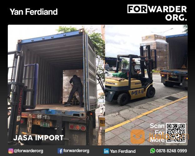 Jasa Import China Import Tanpa Khawatir Lagi | FORWARDER ORG (28158091) di Kota Jakarta Barat