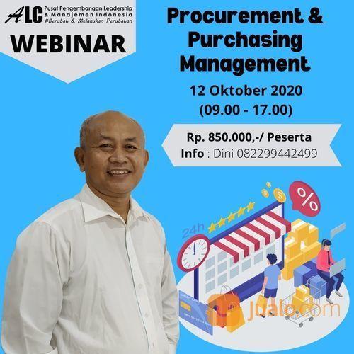 Training Online Webinar Procurement & Purchasing Management ALC Leadership & Management (28159759) di Kota Bekasi