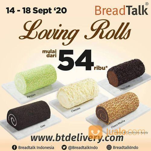 BreadTalk promo Loving Rolls from BreadTalk ! *Long Cakes mulai dari 54rb** (28163647) di Kota Jakarta Selatan