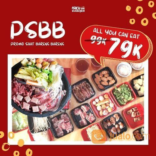 NIKU SHABU GRILL PSBB Promo Saat Bareng Bareng @NIKUSHABUGRILL (28163827) di Kota Jakarta Selatan