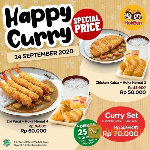 HokBen Promo Tokyo Curry plus Hoka Hemat. Special Price mulai dari Rp 50.000 saja lho (28164067) di Kota Jakarta Selatan