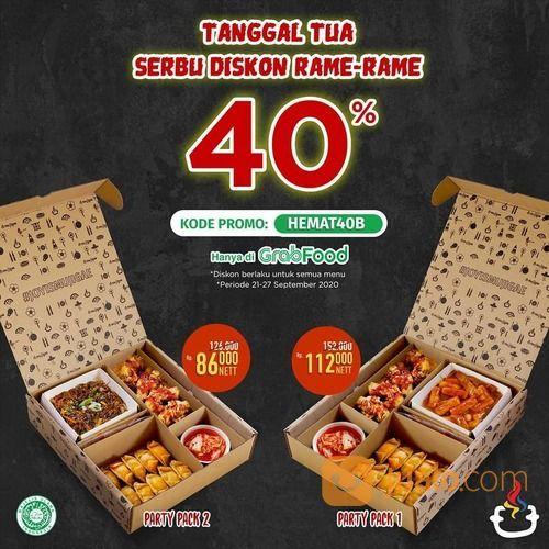 Mujigae Diskon 40% kode promo HEMAT40B untuk wilayah Jabodetabek dan Karawang (28165687) di Kota Jakarta Selatan