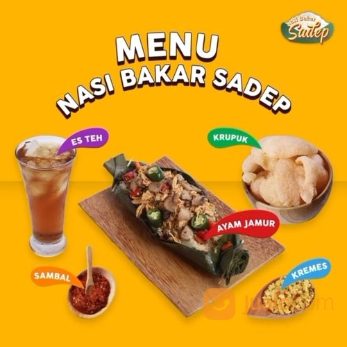Nasi Bakar Sadep Hadir di Gofood / Grabfood / Kulina ID! (28165823) di Kota Jakarta Selatan
