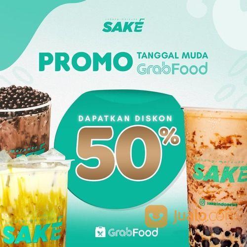 SAKE Diskon 50% via App Grabfood (28168547) di Kota Jakarta Selatan