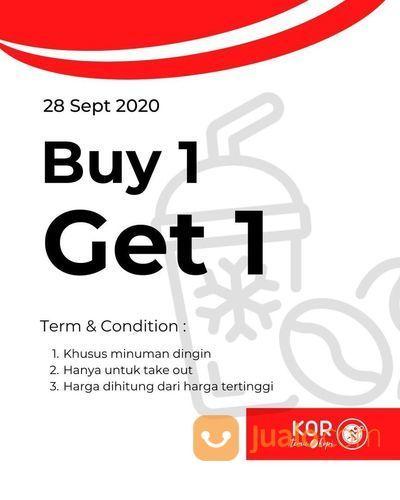 KOR temu & Kopi Buy 1 Get 1 *S&K Berlaku (28168591) di Kota Jakarta Selatan
