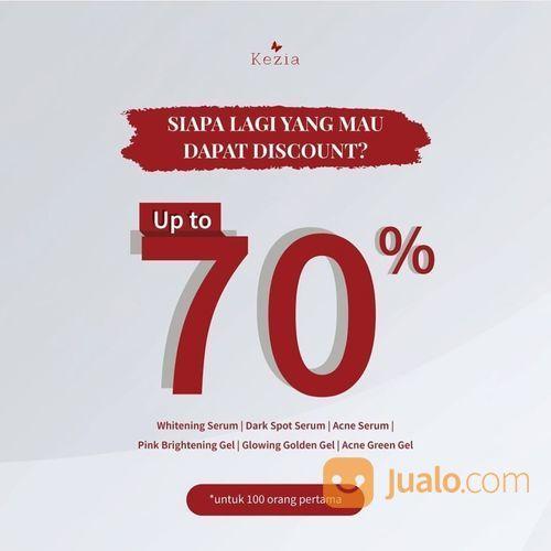 Kezia Skin Care Diskon up to 70% jika kamu termasuk 100 pembeli pertama (28169063) di Kota Jakarta Selatan