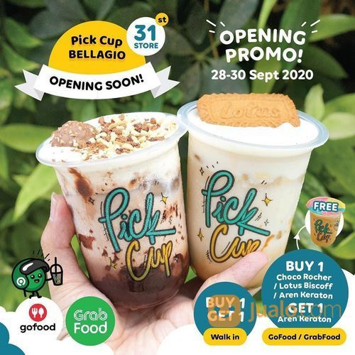 SOFT OPENING Soon Pick Cup Bellagio PROMO OPENING BUY 1 GET 1 (28169399) di Kota Jakarta Selatan