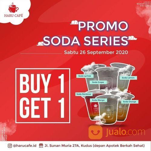 Haru Book Cafe Promo BUY 1 GET 1 ( soda series apapun ) dan TERBATAS 100cup ONLY! (28169411) di Kota Jakarta Selatan