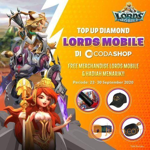 Codashop TopUp Lords Mobile dan Dapatkan Merchandise Official! (28169583) di Kota Jakarta Selatan
