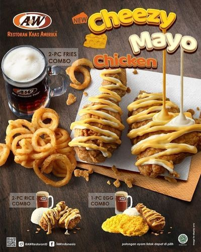 A&W Restaurant Cheezy Mayo Chicken (28169947) di Kota Jakarta Selatan
