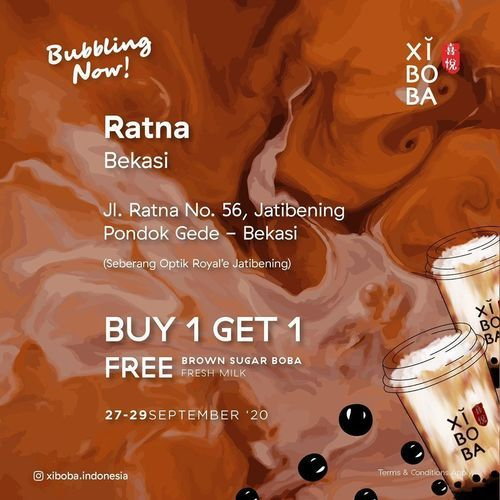 XIBOBA Opening Promo Buy 1 Get 1 (28170139) di Kota Jakarta Selatan