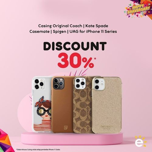 Erafone Discount 30% Casing Iphone (28190203) di Kota Jakarta Selatan