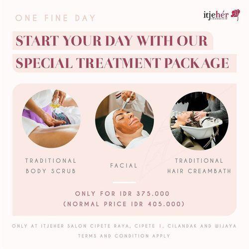 itjeHer One Fine Day Package (28190207) di Kota Jakarta Selatan