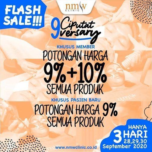 NMW Flash Sale Anniversary Promo (28190215) di Kota Jakarta Selatan