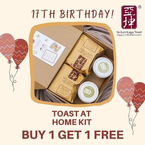 Ya Kun Kaya Toast TODAY ONLY! Special Promo (28190227) di Kota Jakarta Selatan