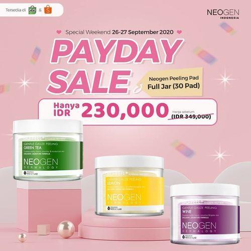 Neogen Payday Sale Bio-Peel Gauze Peeling Pad Full Jar Rp. 230.000 (28210707) di Kota Jakarta Selatan