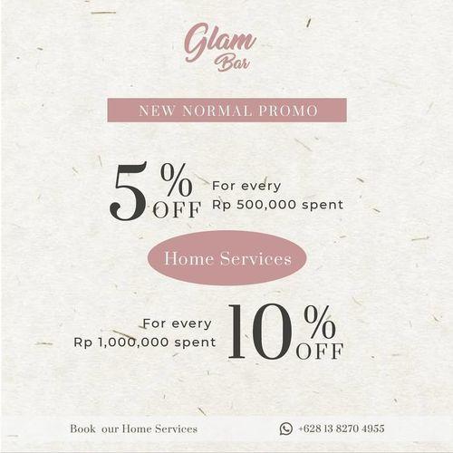 Glam Bar Promo Up To 10% Off (28210835) di Kota Jakarta Selatan