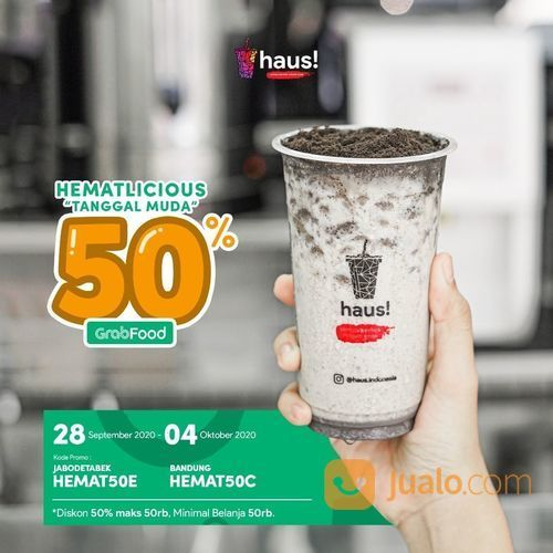 HAUS! Hematlicious Diskon 50% Grabfood (28210987) di Kota Jakarta Selatan