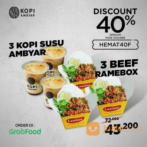 Kopi Ambyar Promo Grabfood Diskonnya 40% sampai 40ribu (28255067) di Kota Jakarta Selatan