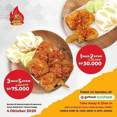 Geprek Bensu Promo Oktober (28257903) di Kota Jakarta Selatan