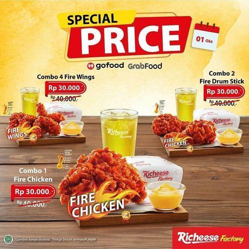 Richeese Factory Promo Special Price (28257907) di Kota Jakarta Selatan