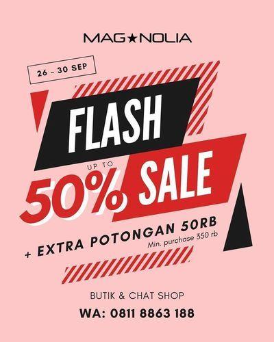 Magnolia Flash Sale 50% Off (28257931) di Kota Jakarta Selatan