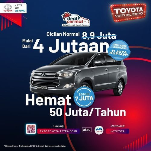 Toyota ID Promo Cicilan Bulanan Ringan (28257943) di Kota Jakarta Selatan
