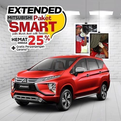 Mitsubishi Paket SMART Hemat 25% Off (28257971) di Kota Jakarta Selatan