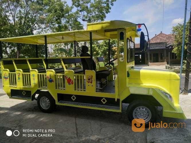 Odong Odong Wahana EK Kereta Mini Wisata Kuning (28265543) di Kab. Tulang Bawang Barat