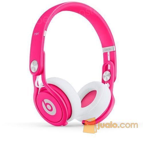 Headphone Dj Beats Mixr pink Neon Bandung (2828247) di Kota Jakarta Barat
