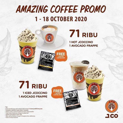 J.CO Indonesia Amazing Coffee Promo (28282623) di Kota Jakarta Selatan