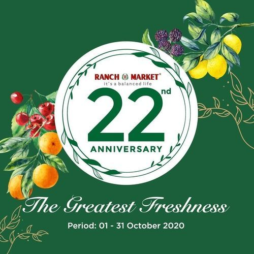 Ranch Market Promo 22nd Anniversary (28282663) di Kota Jakarta Selatan
