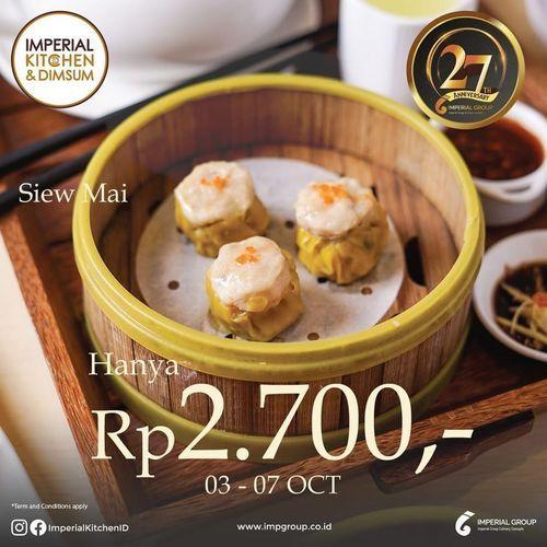 Imperial Kitchen Voucher Rp. 2,700 - (28282767) di Kota Jakarta Selatan