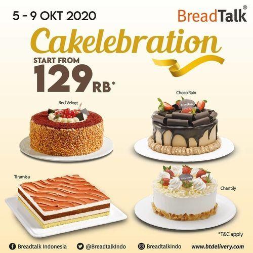 Breadtalk CAKElebration Whole Cakes Rp129rb (28282799) di Kota Jakarta Selatan