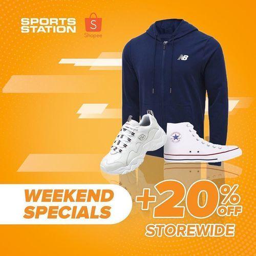 Sports Station Promo Weekend Specials 20% Off (28283459) di Kota Jakarta Selatan