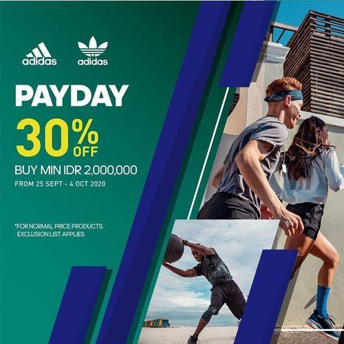 Adidas Indonesia Promo Payday 30% Off (28283495) di Kota Jakarta Selatan