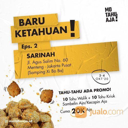 Mo Tahu Aja PROMO OPENING Sarinah (28299311) di Kota Jakarta Selatan