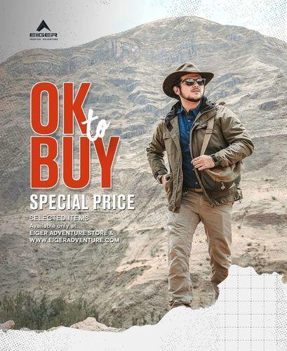 Eiger OK To Buy Special Price (28301763) di Kota Jakarta Selatan