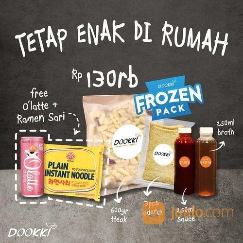 Dookki Tetap Enak Dirumah dengan Rp 130.000 Frozen Pack ! (28302035) di Kota Jakarta Selatan