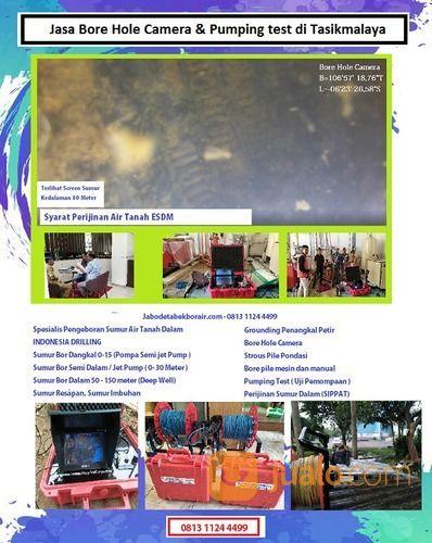 Jasa Bore Hole Camera & Pumping Test Di Tasikmalaya (28363295) di Kab. Tasikmalaya