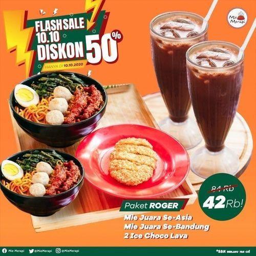 Mie Kuah Rempah Flashsale Diskon 50% (28379127) di Kota Jakarta Selatan
