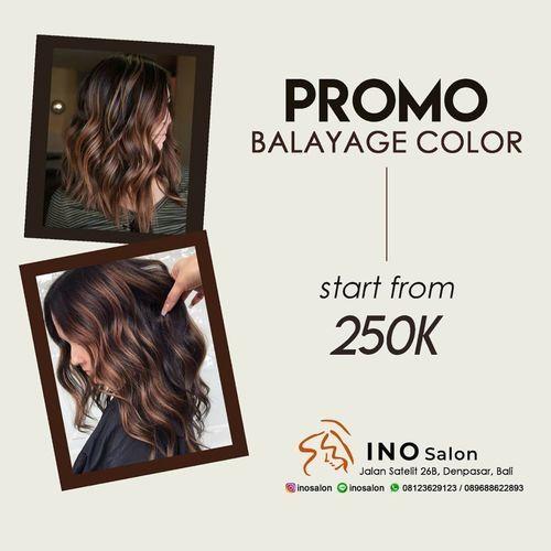 INO Salon PROMO KHUSUS BALAYAGE COLOR (28440819) di Kota Denpasar