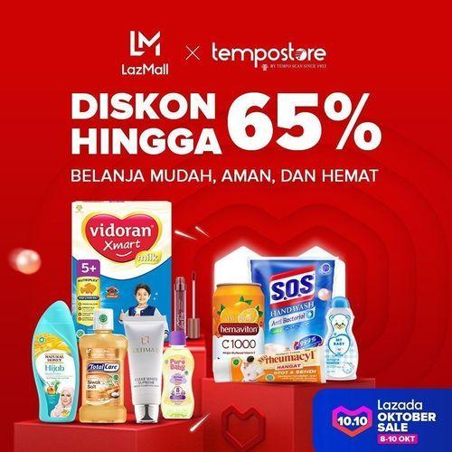 Tempo Store Diskon Hingga 60% Official Store Lzada (28447467) di Kota Jakarta Selatan