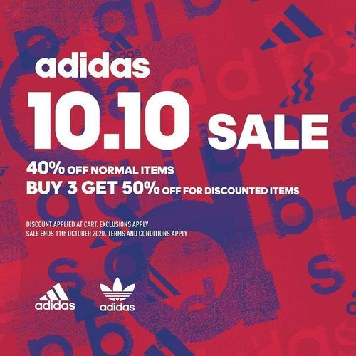 Adidas 10.10 Sale Promo (28447543) di Kota Jakarta Selatan