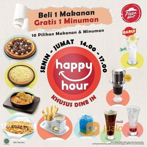 Pizza Hut PROMO BELI 1 MAKANAN GRATIS 1 MINUMAN (28448791) di Kota Jakarta Selatan